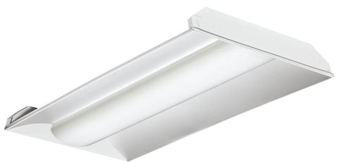 2X4' LED VOLUMETRIC TROFFER FIXTURE 40W - 5200 Lumens UL & DLC Listed - 5 YEAR WARRANTY