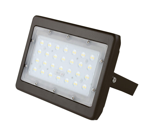 LED STANDARD FLOOD LIGHT 50W - 5,801 Lumens UL & DLC Premium - 5 YEAR WARRANTY