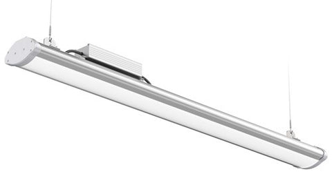 LED LINEAR SKY BAY W/MOUNTING HARDWARE, DIMMABLE 150W - 22,204 LUMENS UL & DLC Premium - 5 YEAR WARRANTY