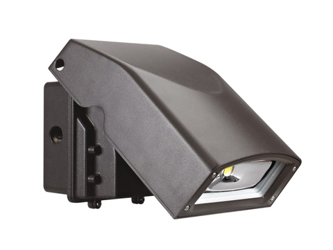 LED SLIM FULL CUTOFF WALL PACK 55W - 6185  LUMENS UL & DLC Listed - 5 YEAR WARRANTY (ADJUSTABLE)