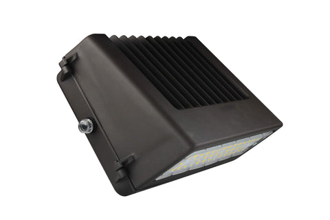 LED LARGE FULL CUTOFF WALL PACK 80W - 10,007  LUMENS UL & DLC Premium - 5 YEAR WARRANTY (PHOTOCELL SENSOR)