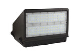 LED LARGE FULL CUTOFF WALL PACK 100W - 12,000  LUMENS ETL & DLC Listed - 5 YEAR WARRANTY (PHOTOCELL SENSOR)