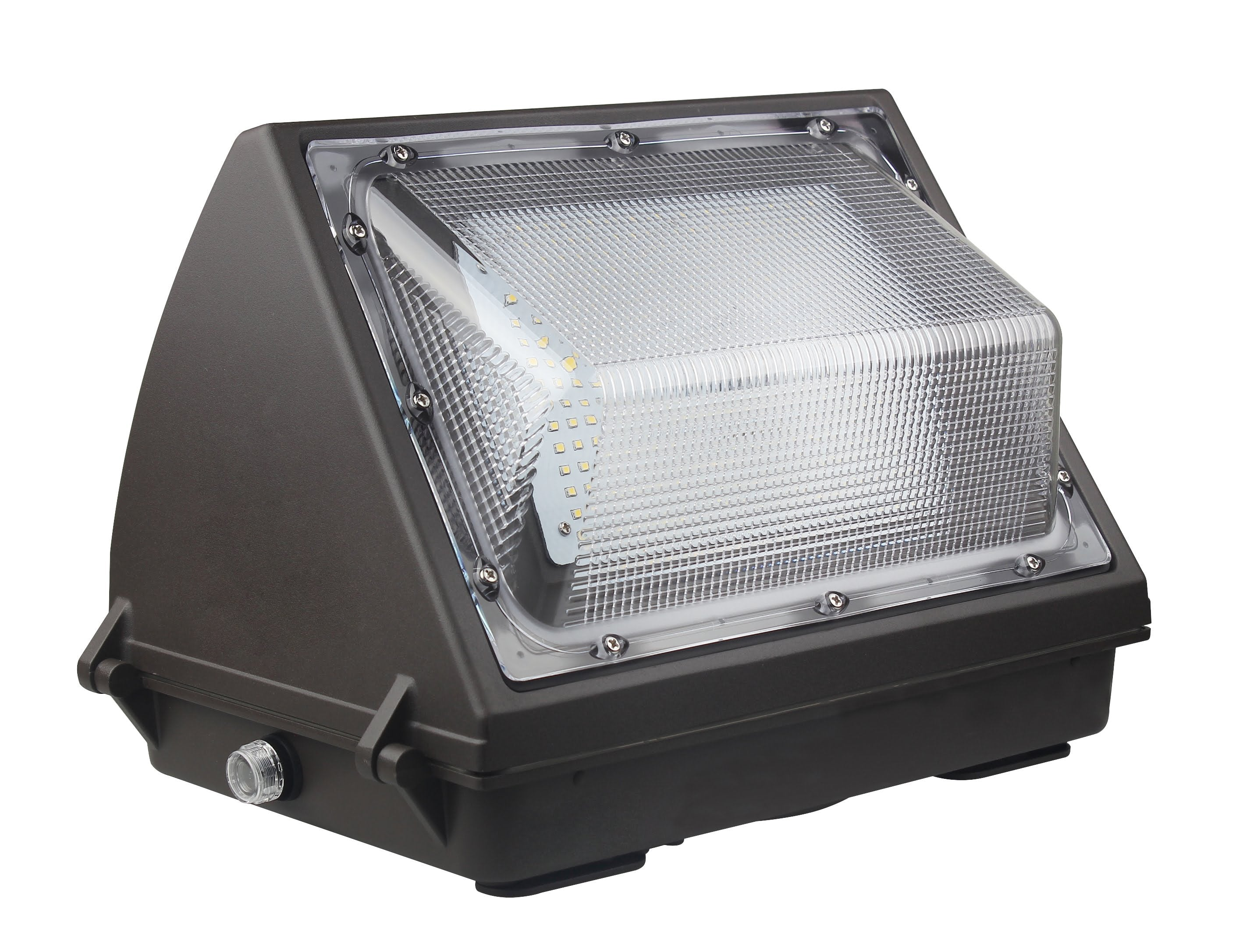 LED STANDARD WALL PACK 55W - 6,884 LUMENS UL & DLC Premium - 5 YEAR WARRANTY
