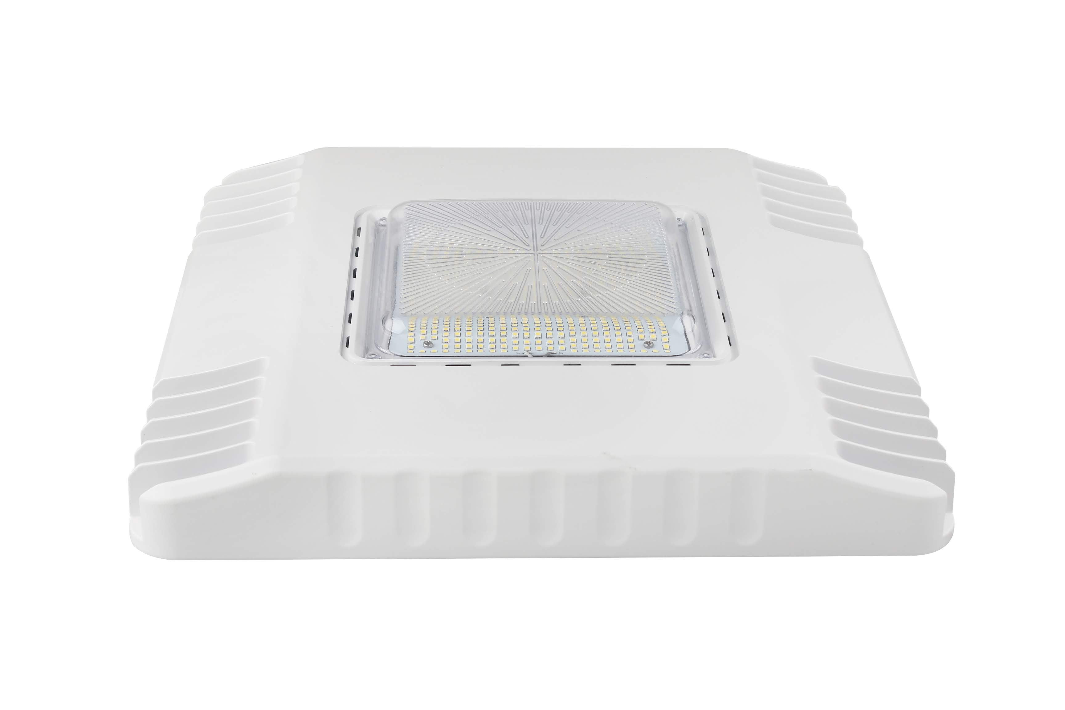 LED PETROLEUM CANOPY SERIES WHITE 120W - 14,463 LUMENS UL & DLC Premium - 5 YEAR WARRANTY