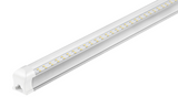 4FT LED T8 INTEGRATED FIXTURE 22W - CLEAR 2860 LUMENS - UL & DLC LISTED