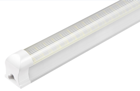 4ft Led T8 Integrated Fixture 22w Frosted 2860 Lumens