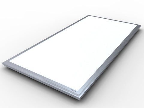 2X4' LED EDGELIT FLAT PANEL LIGHT CONTRACTOR SERIES 50W - 5500 Lumens UL & DLC Listed - 5 YEAR WARRANTY