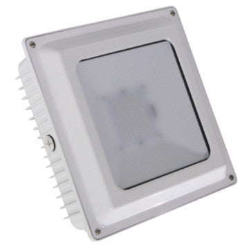 LED ULTRA THIN CANOPY WHITE 75W - 8,791 LUMENS UL & DLC Listed - 5 YEAR WARRANTY
