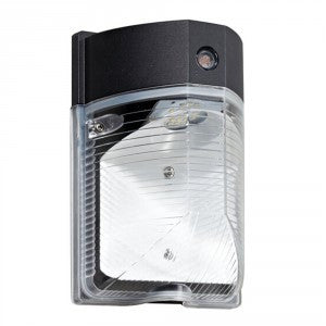 LED SECURITY WALL PACK 17W - 2000 Lumens UL & DLC Listed - 5 YEAR WARRANTY (PHOTOCELL SENSOR)