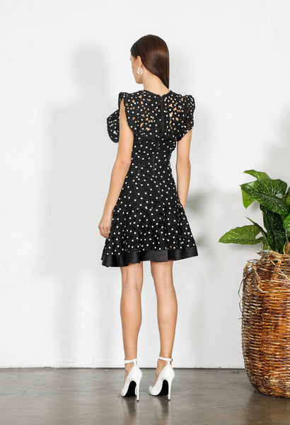SHILLA- ELEMENT FLORA LACE DRESS
