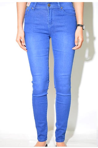 WAKEE- BLUE SKINNY JEANS