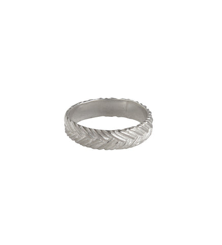 ALUNA BRAIDED RING