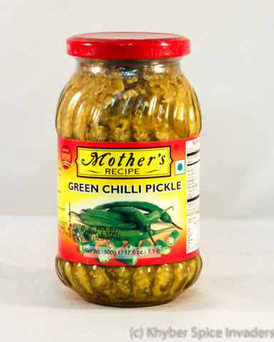 MOTHERS GR CHILLI PICKLE 500GM