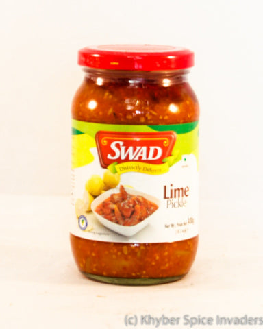 SWAD LIME PICKLE 400GM
