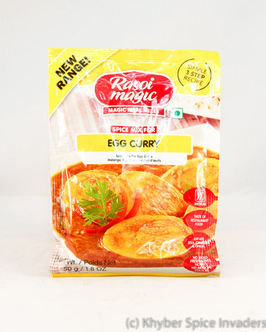 RASOI MAGIC RTC EGG CURRY 50G