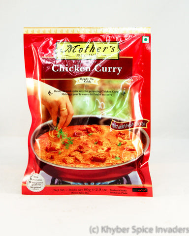 MOTHERS RTC CHIKEN CURRY 75G