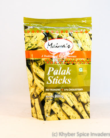 MAIYAS PALAK STICKS 200GM