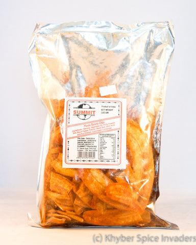 SUMMIT MASALA BANANA CHIPS200G