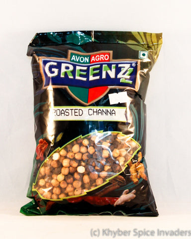 GREENZ ROASTED CHANNA 500GM