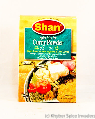 SHAN CURRY POWDER 100GM