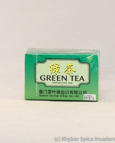 CHINESE XGT200GREEN TEA BAG 20