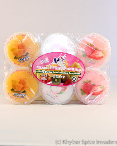 MIC MIX FRUIT PUDDING  6 PC