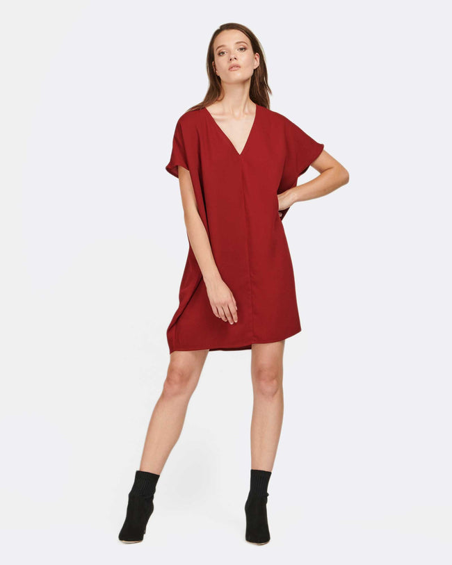 Pumped Up Kicks Dress - MVN the label - Maroon