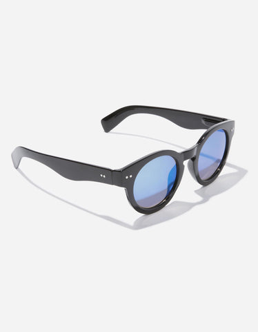 Blue and Black Mirrored Sunglasses
