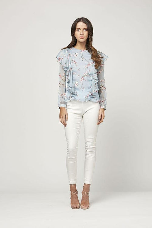 Bluebird Heaven Blouse - MVN the Label