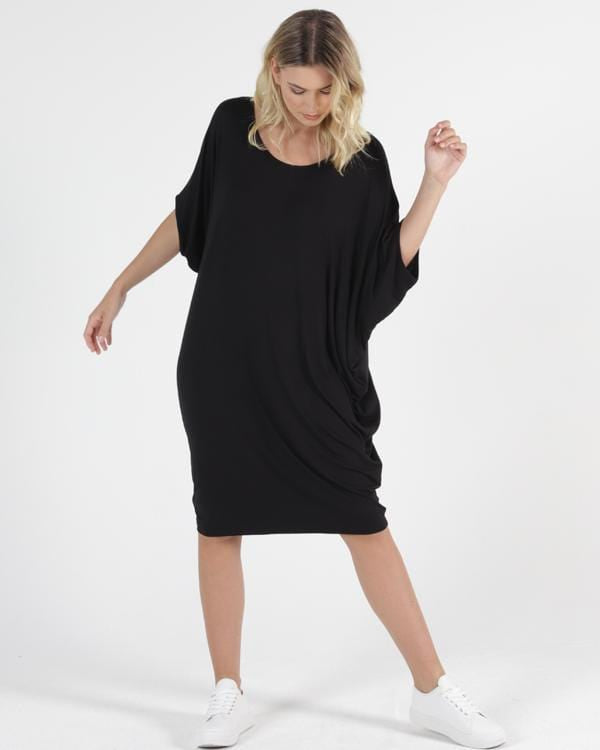 Maui Dress by Betty Basics -  Black PREORDER DUE JULY