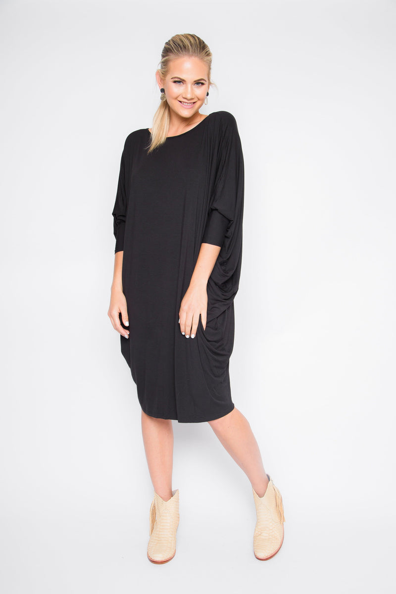 PQ Collection Miracle Dress Black - French Kiss Boutique NZ