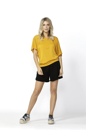 Maui Tee by Betty Basics - Mango