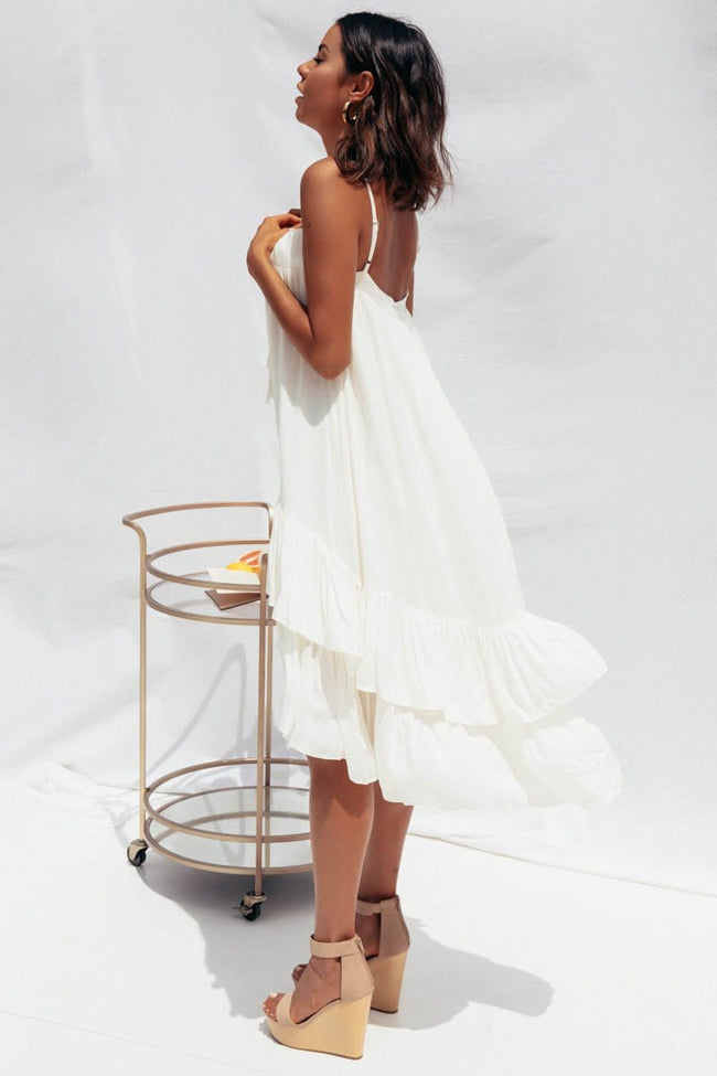 Cassie Dress by SNDYS The Label - White PRE-ORDER