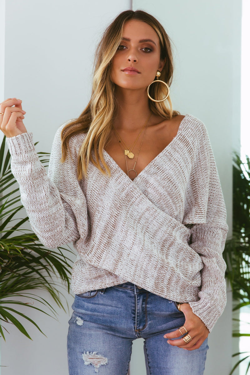 SNDYS Double Crossed Knit - Sand