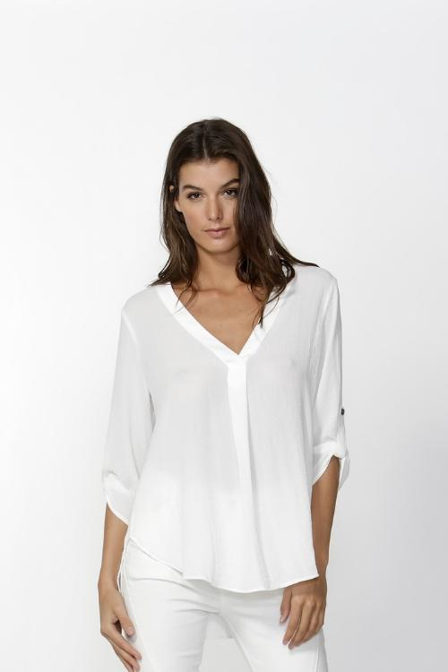 FATE + BECKER The Freda Blouse - Pearl