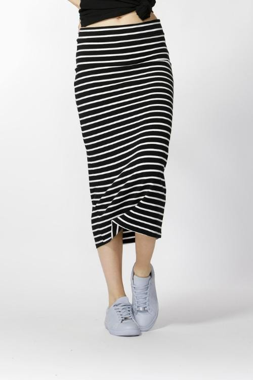 BETTY BASICS Gigi skirt - Stripe