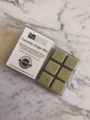 Soy Wax Melts by Skye Candle and Body Care - Cucumber Ginger Mint