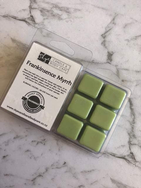 Soy Wax Melts by Skye Candle and Body Care - Frankinsence Myrrh