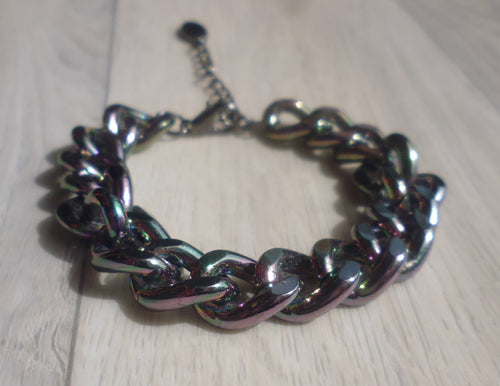Feel the heat chunky chain bracelet
