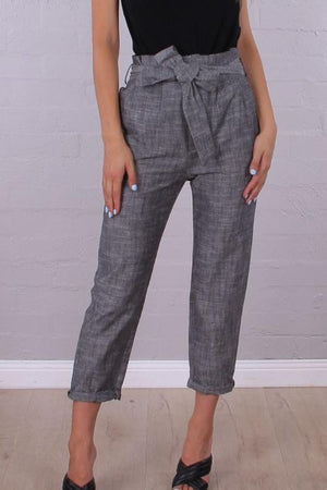 ROSE BULLET The Power Pants - Grey LAST PAIR - SIZE 6