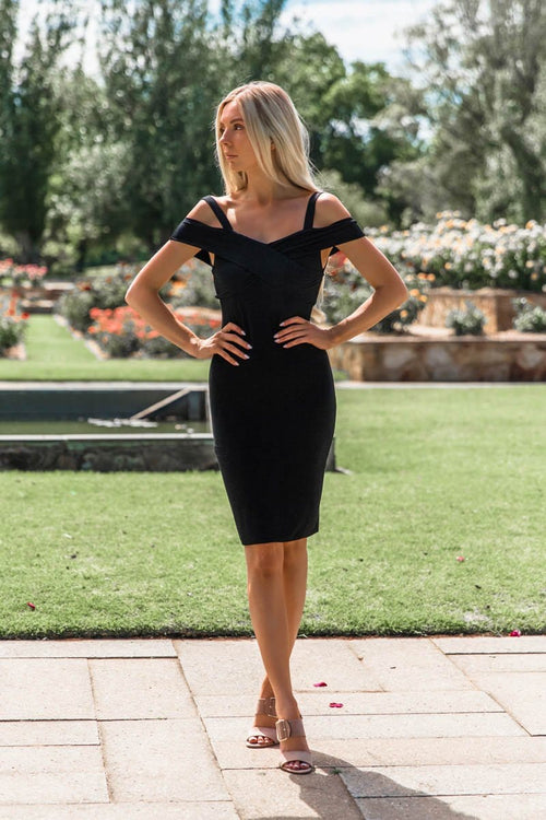 SNDYS Jules Dress - Black