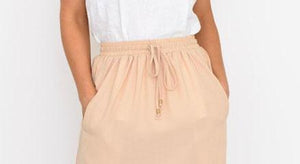 Melody Midi Skirt by White Closet - Black