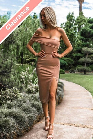 SNDYS Tiffany Dress - Rose Gold