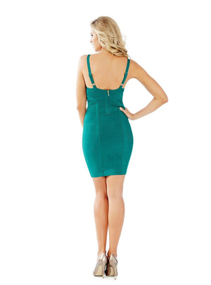 Marciano Emerald Bandage Dress LAST ONE