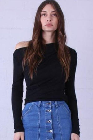 Off Shoulder Top | French Kiss Boutique NZ