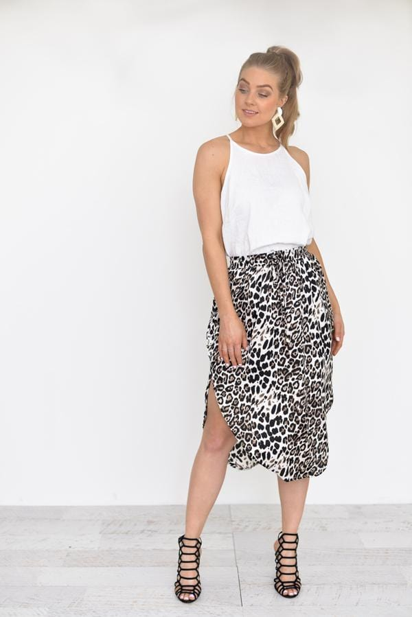 Melody Midi Skirt | French Kiss Boutique