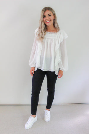 Cloud Boundary Blouse - MVN the label