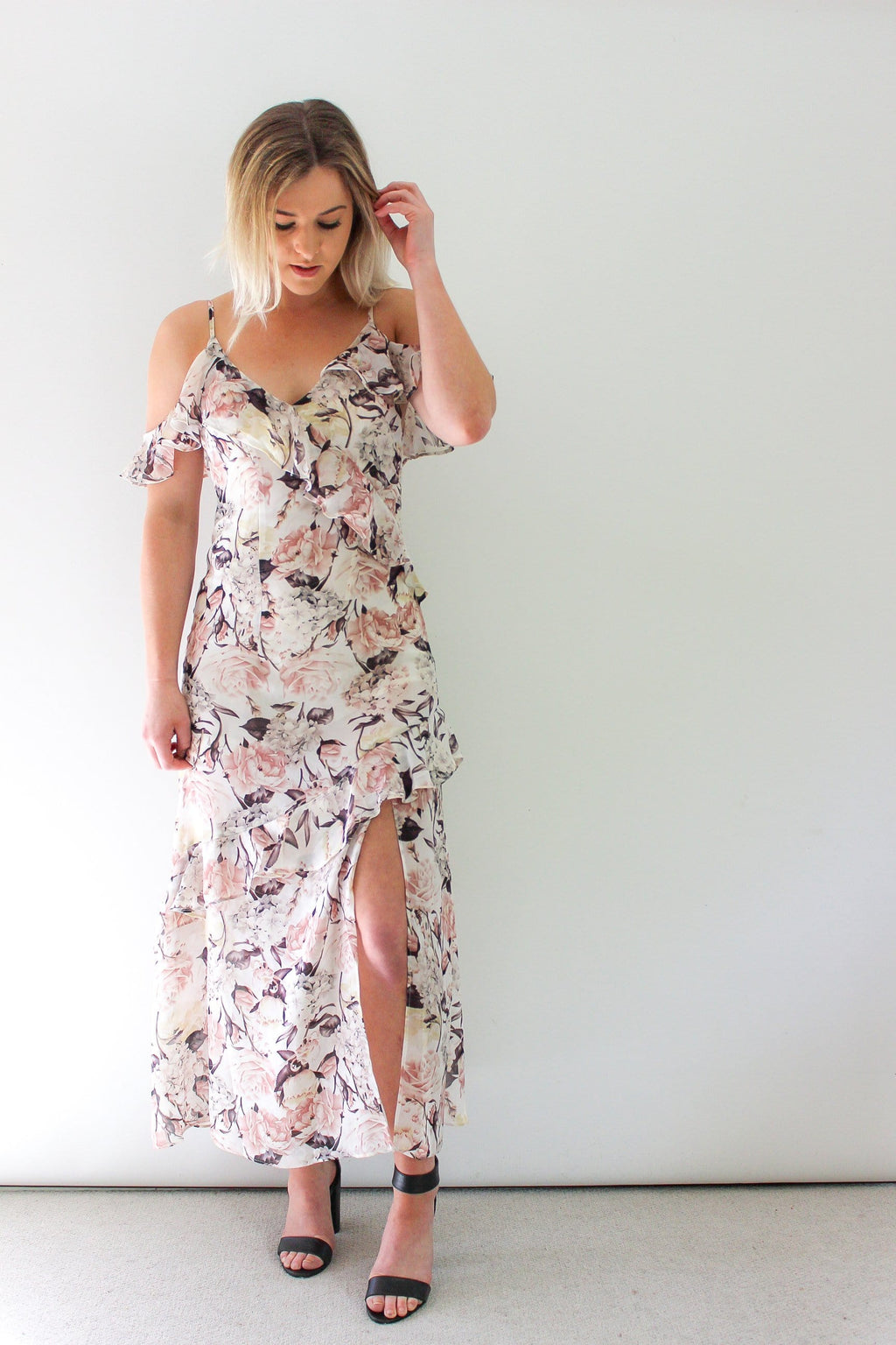 Leo Floral Midi Dress by SNDYS The Label