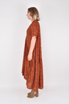 PQ Collection Peak Maxi Dress - Desert Leopard