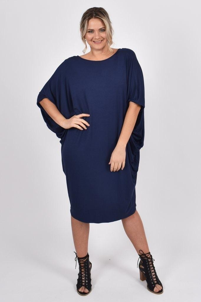 PQ Collection The Miracle Dress - Navy